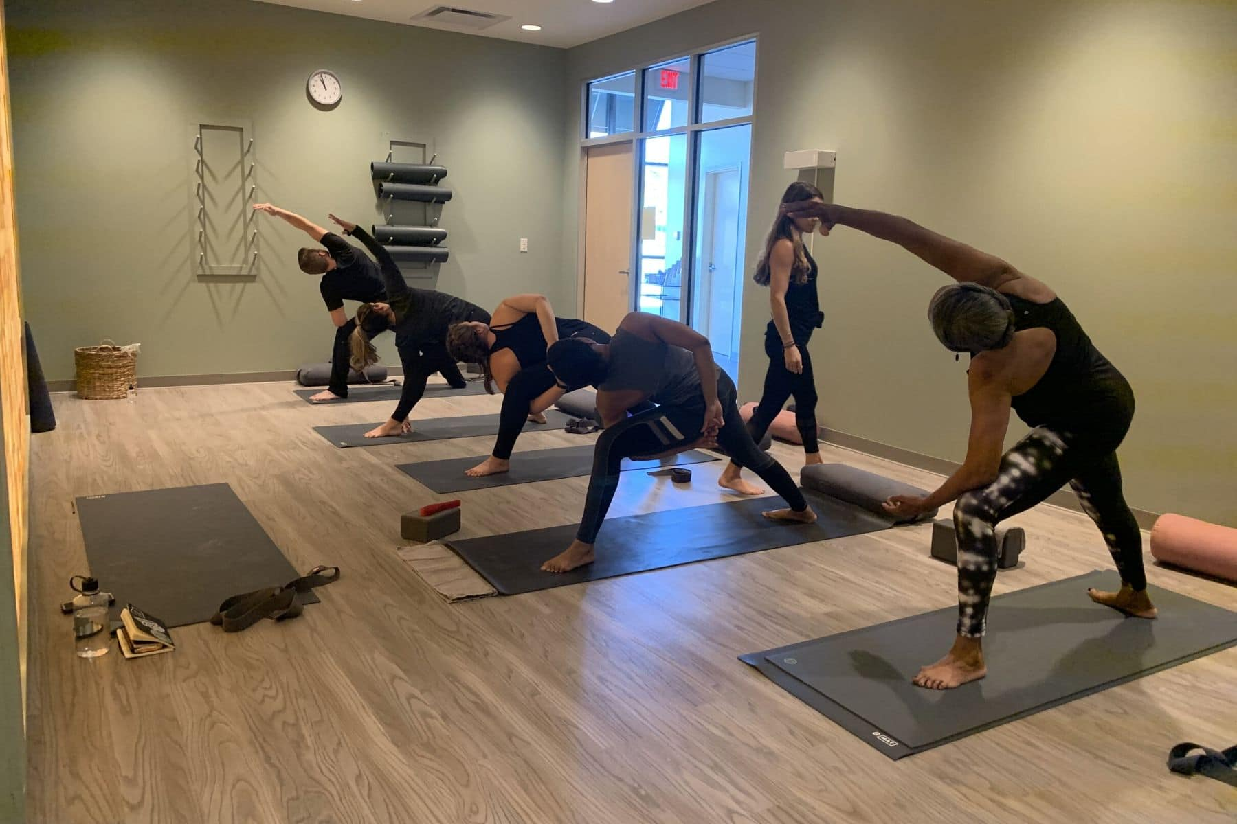 Yoga Class at Eden Salt Studio