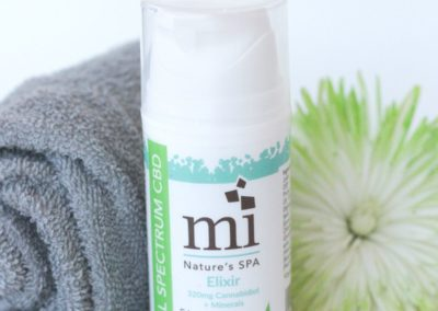 Full Spectrum CBD Elixer. Skincare from Mindful Minerals. Available at Eden Salt Studio